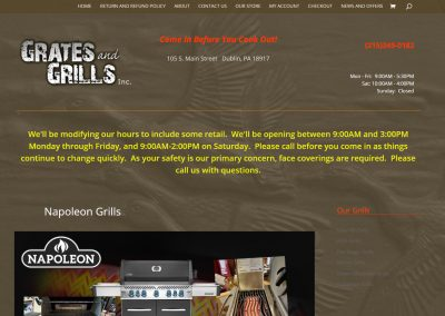 Grates and Grills