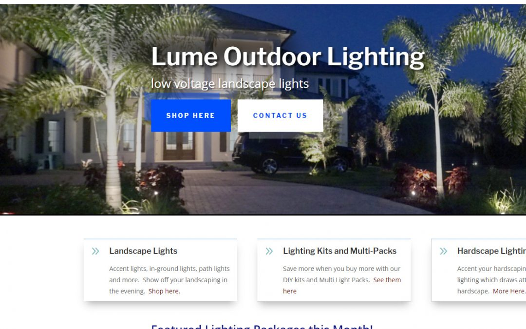 Lume Outdoor Lighting